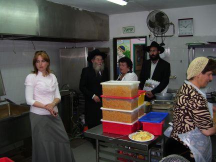 MK Solodkin visits Eshel Ashkelon